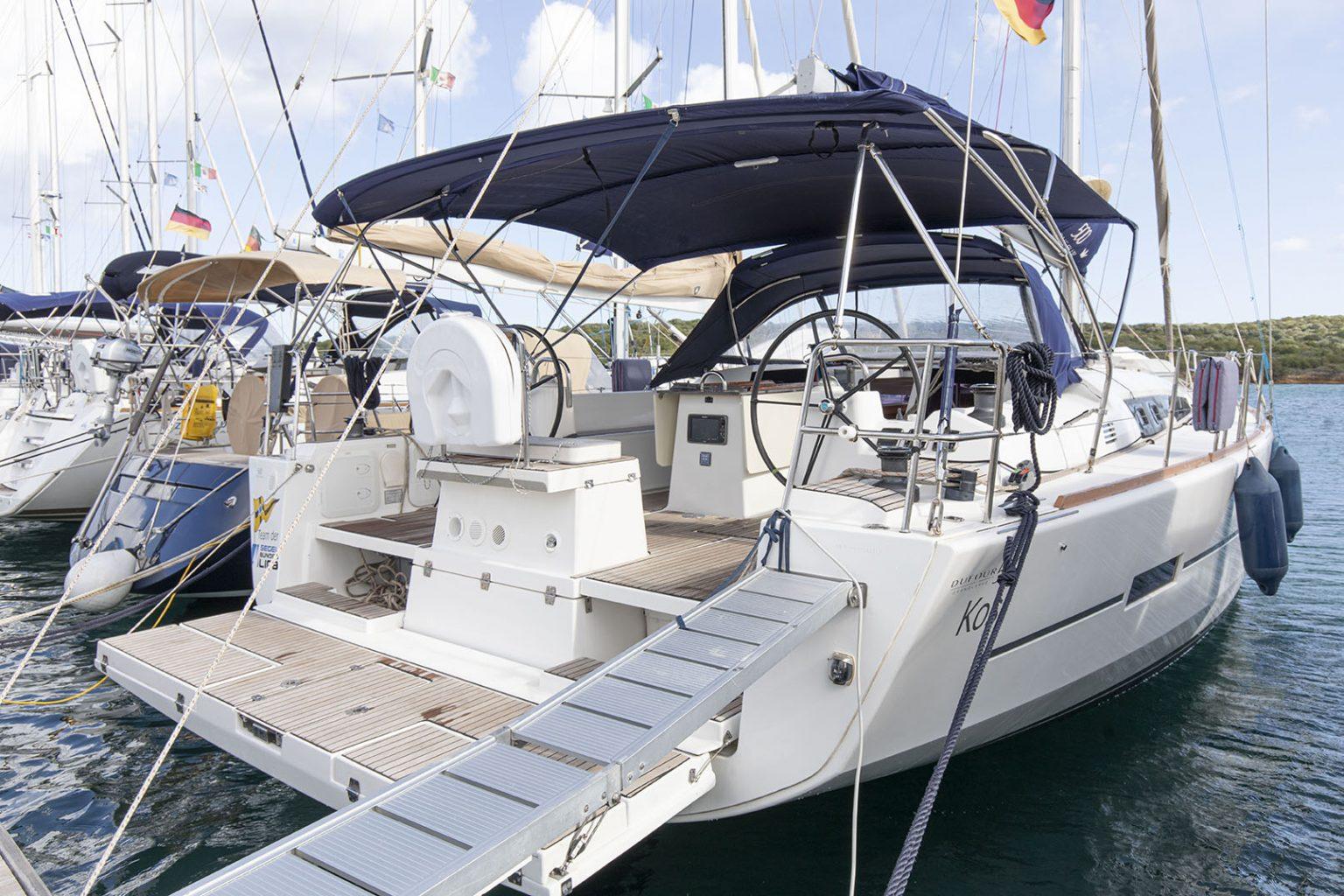 Dufour 500 KOSI Sun Charter Sardinia