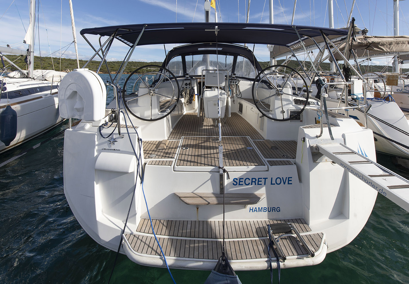 Sun Odyssey 506 Secret Love Sun Charter